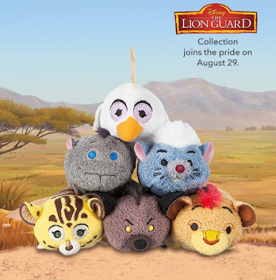 The Lion Guard Tsum Tsum Plush Collection by Disney