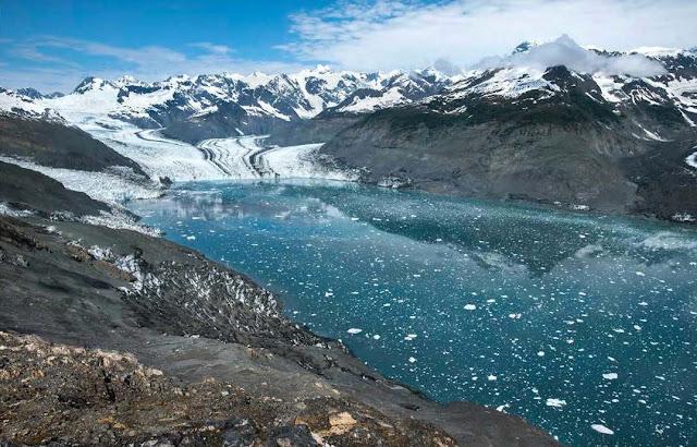 Glacier photos illustrate climate change