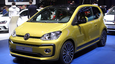 Volkswagen Up! in auto show Hd Pictures