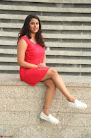Shravya Reddy in Short Tight Red Dress Spicy Pics ~  Exclusive Pics 065.JPG