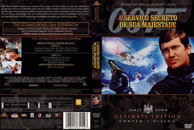Capa DVD A Serviço Secreto de Sua Majestade