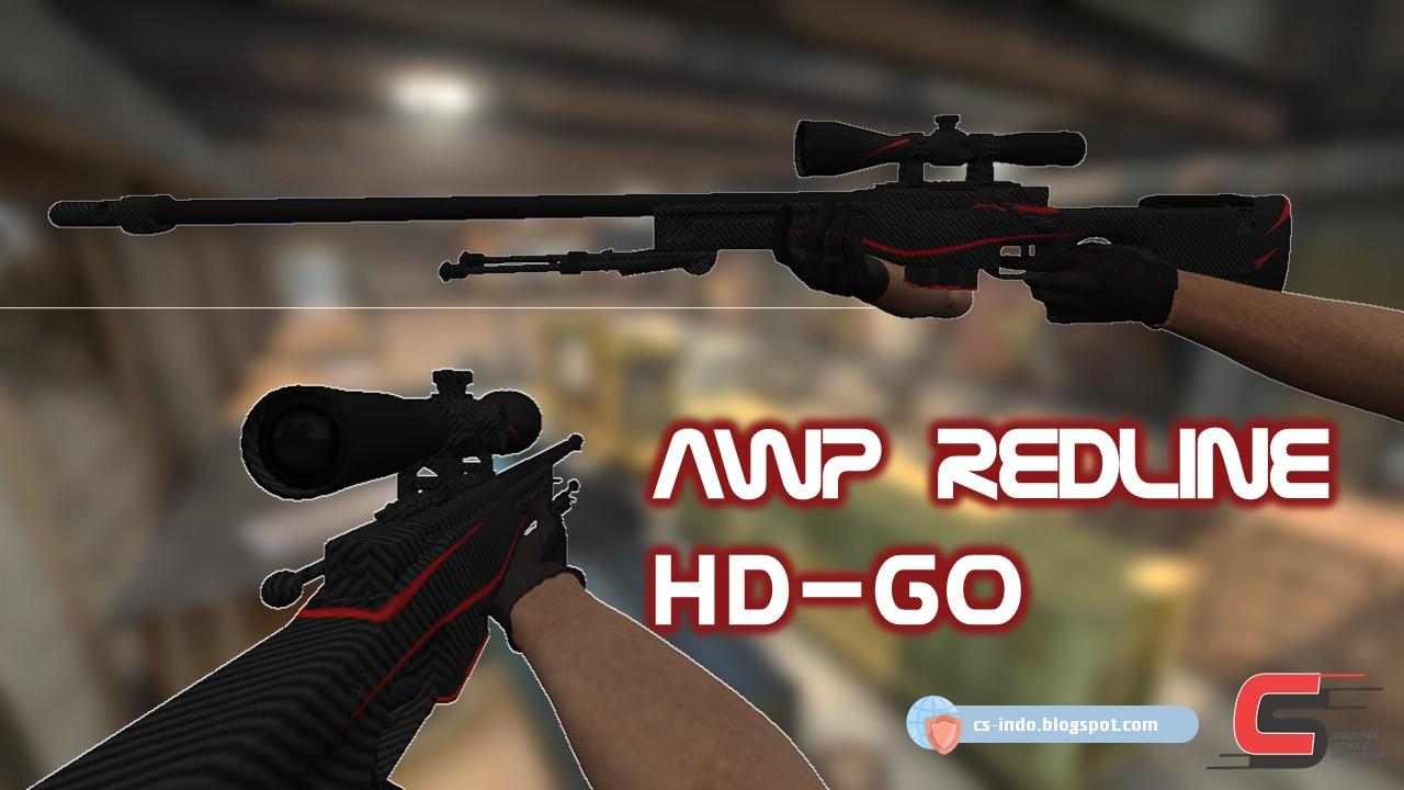 awp redline csgo hd for cs1 6 cscz counter strike indonesia mod