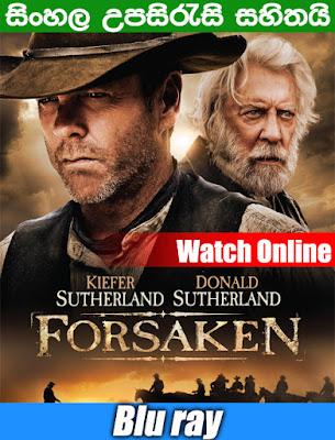 Forsaken 2015 Full Movie Watch Online Free With Sinhala Subtitle
