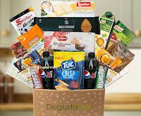 Logo Saldi di Natale Degustabox: -50%, consegna gratuita e prodotto omaggio
