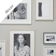 How to hang your own picture frame wall