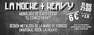 La Noche + Heavy en El Pez Eléctrico