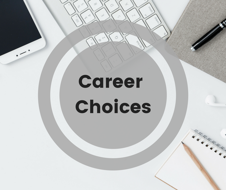Stephanie Kamp Blog: Career Choices