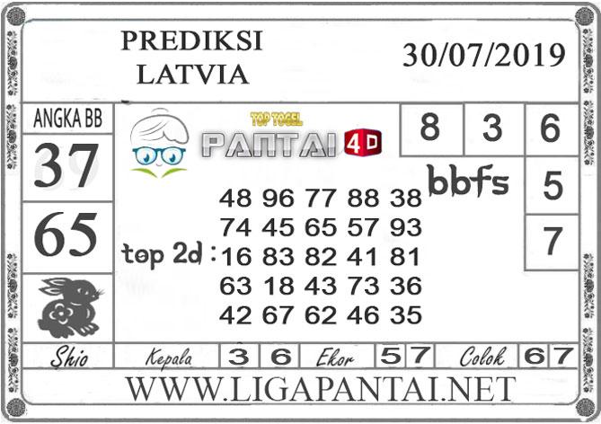 """PREDIKSI TOGEL """"LATVIA"""" PANTAI4D 30 JULI 2019"""
