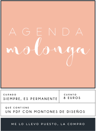 agenda bonita barata