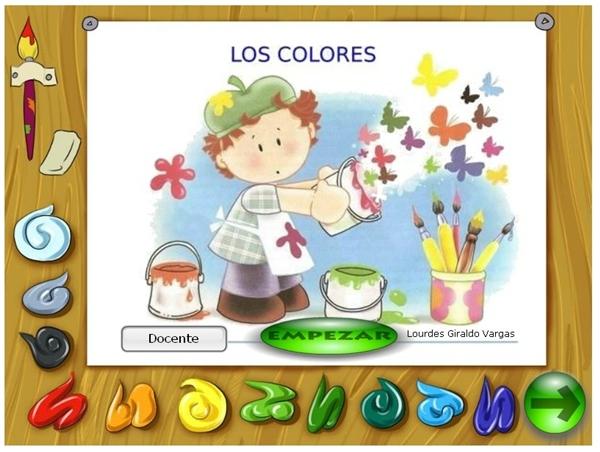 Los colores de Lourdes Giraldo Vargas Educación Infantil de 2º Ciclo
