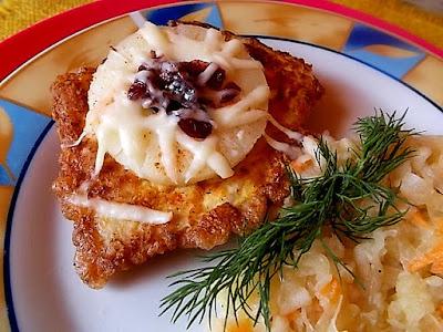 Filet kurczaka z ananasem i żurawiną