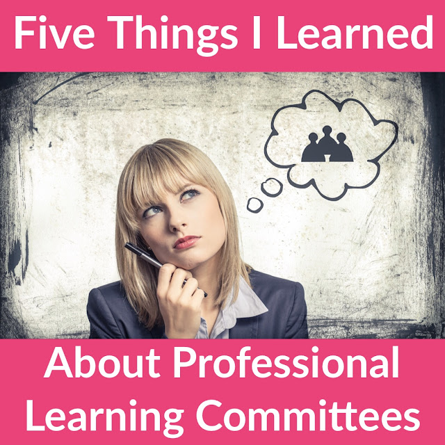 Why I'm excited for my district to implement Professional Learning Committees