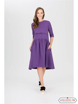 vestidos para embarazadas manga corta