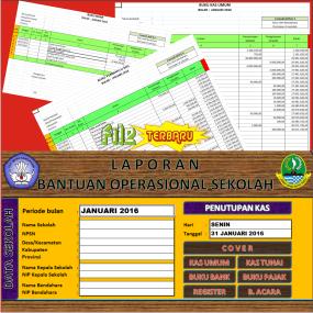 Download Aplikasi Buku Kas Umum (BKU) Terkait Laporan BOS 2016