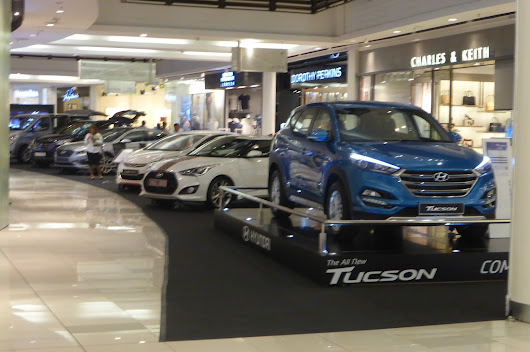 Hyundai NEW Tucson preview at Paradigm mall 21 to 25 Oct