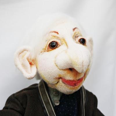 Edgar ooak art doll