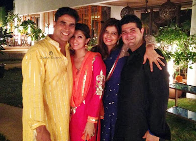 Pre-Diwali Party at Twinkle & Akshay Kumar 's House