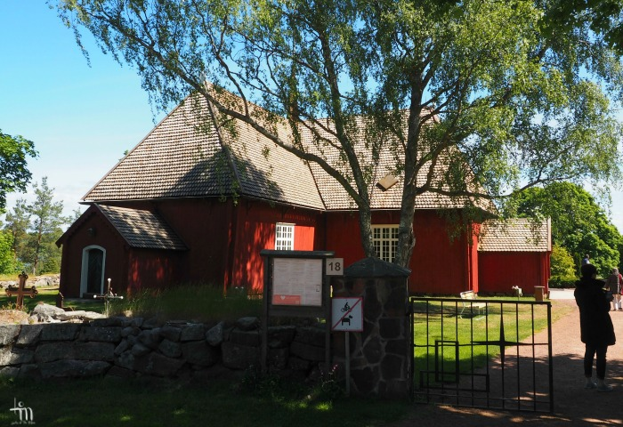 Houtskarin kirkko Turun saaristossa