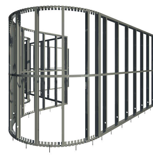 "Revit Add-Ons: Metal Framing Wall+ – ""Complete Metal Wall Frame Creator"""