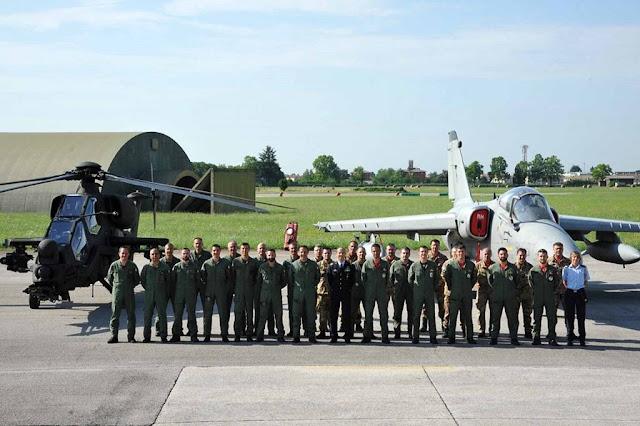 Collaborazione piloti Esercito Aeronautica