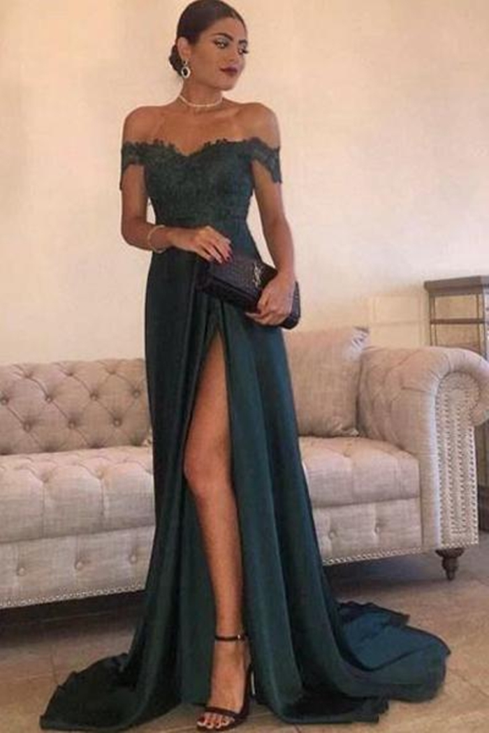 https://www.angrila.com/collections/evening-dresses/products/sexy-leg-slit-long-prom-dresses-lace-off-the-shoulder-evening-gowns
