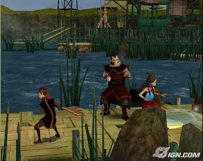 Avatar: The Last Airbender - Into the Inferno (PS2) 2008