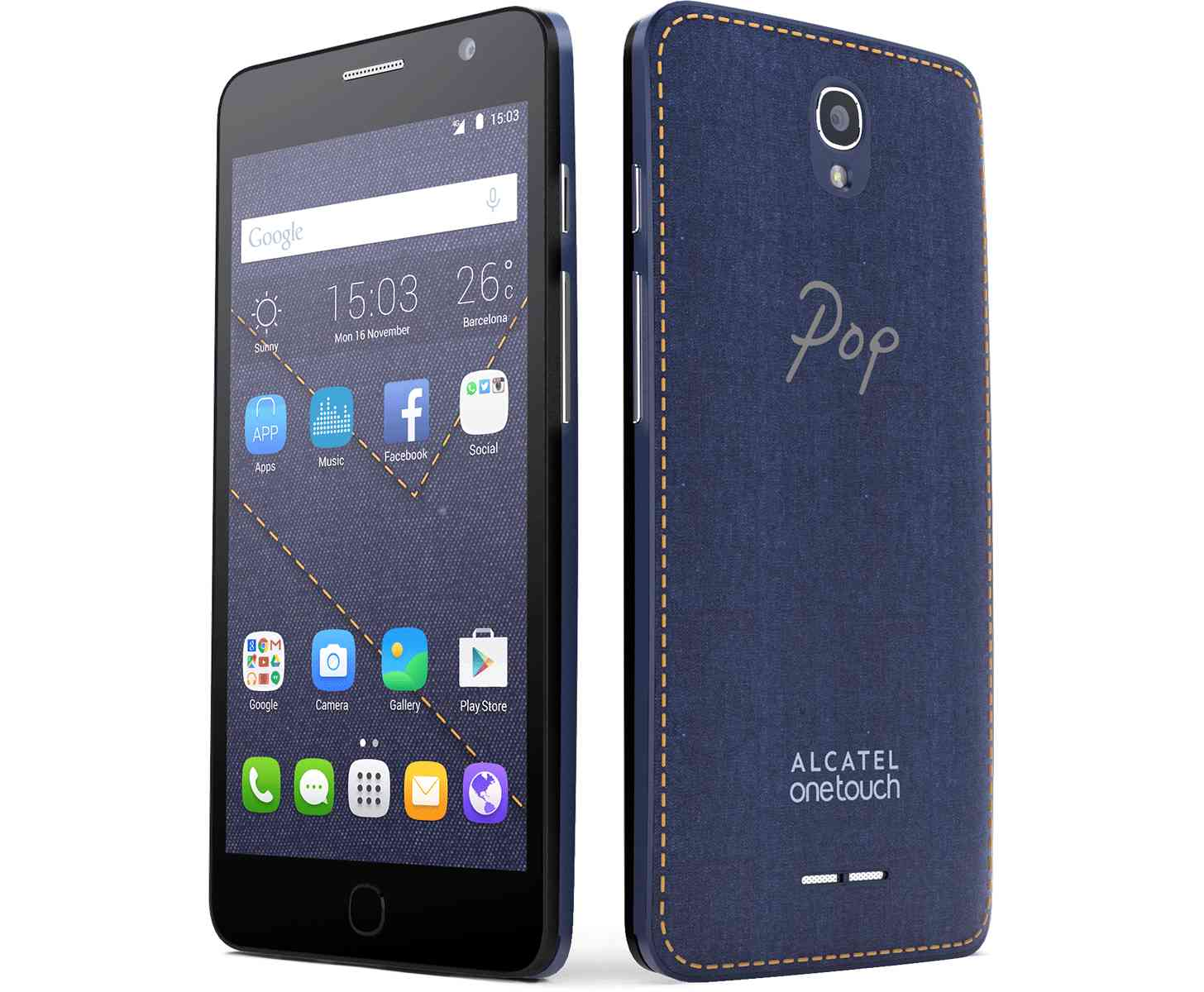 alcatel onetouch pop star android mobile phone price and. Black Bedroom Furniture Sets. Home Design Ideas