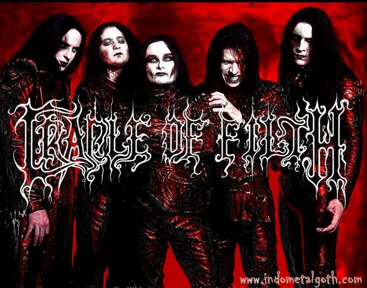 GOTHIC BLACK METAL WALLPAPER - CRADLE OF FILTH