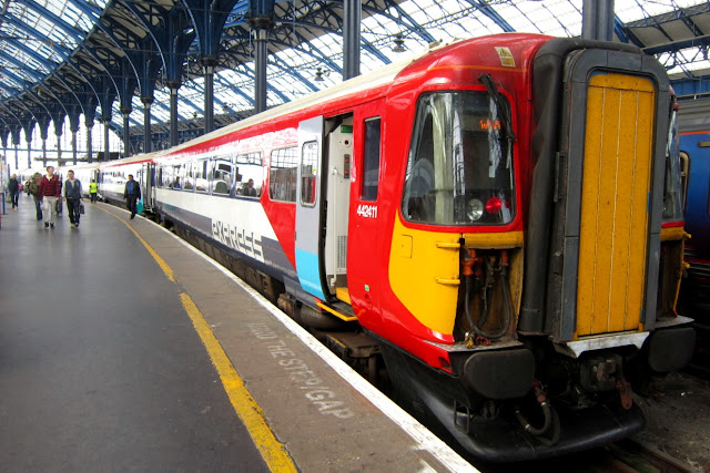 Photo of a former gatwick express train that, with others in the class, may be used to ease overcrowding on some arriva trains wales
