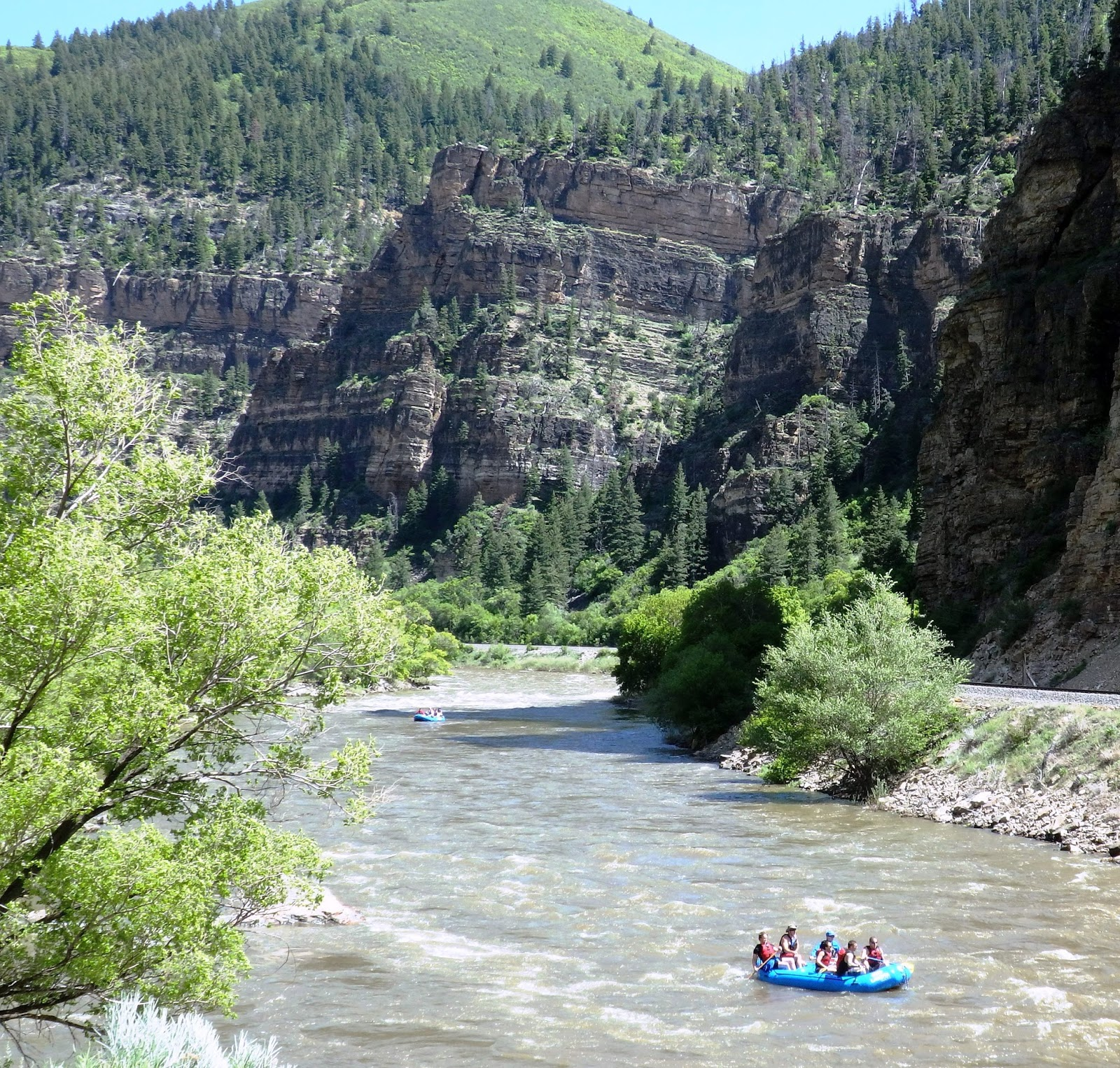 Life as ty sees it vail events glenwood canyon a for Chair 4 cliffs vail