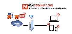 5 Tehnik Cara Blokir Situs di MikroTik