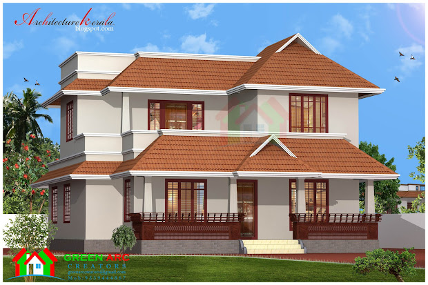 Architecture Kerala Traditional Style House Plan