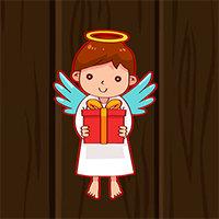 Avmgames Cute Little Angel Escape