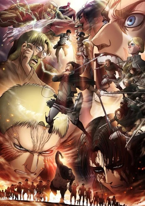 Visual Baru Attack on Titan Season 3 Part 2