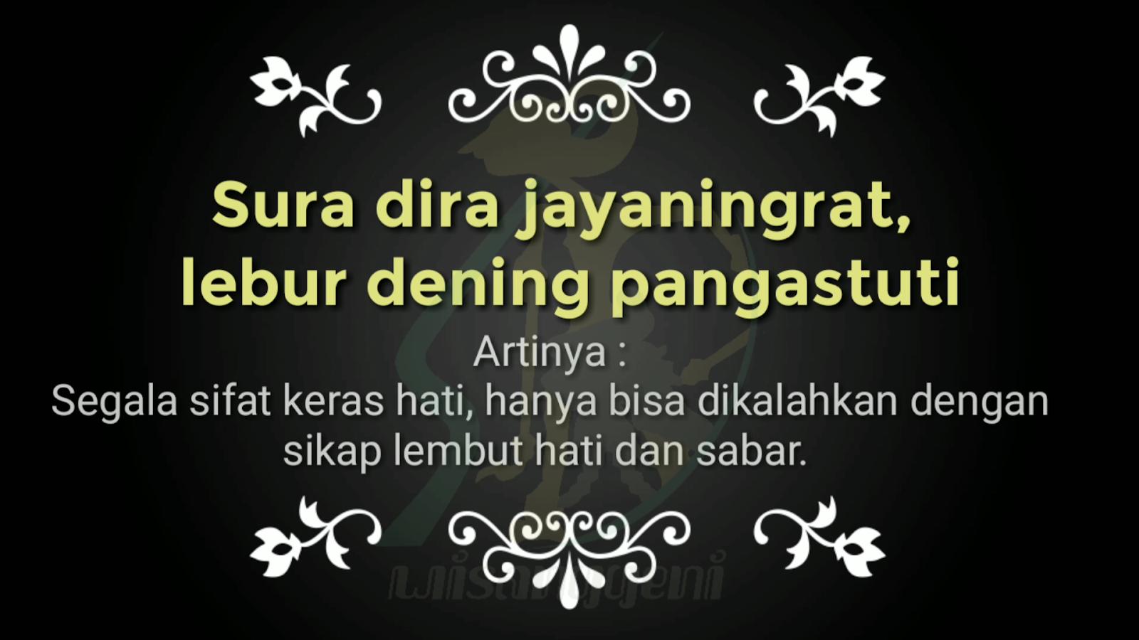 Kata Mutiara Bahasa Jawa Penuh Makna - Mutiara Guruku