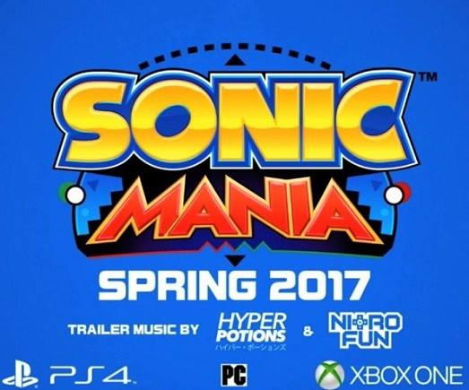 Sonic Mania 2017 Free Download