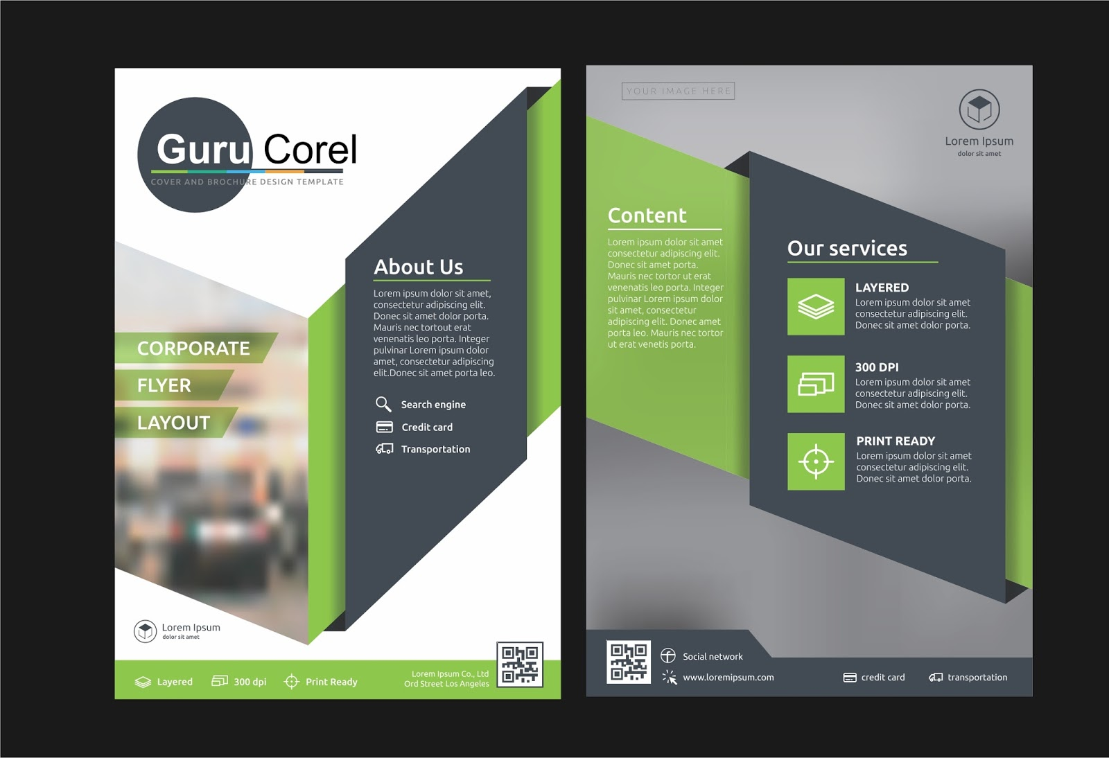 Brochure Design Tutorials In Coreldraw X7 X6 X5 X4 X3