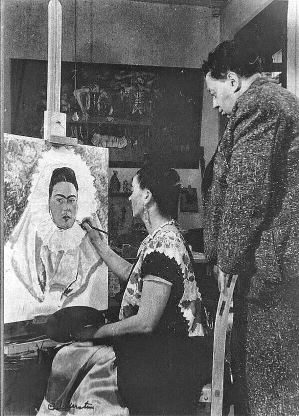 Molto Frida Kahlo a Diego Rivera | La mia notte | Mi Noche, 1939 | Tutt  XA17