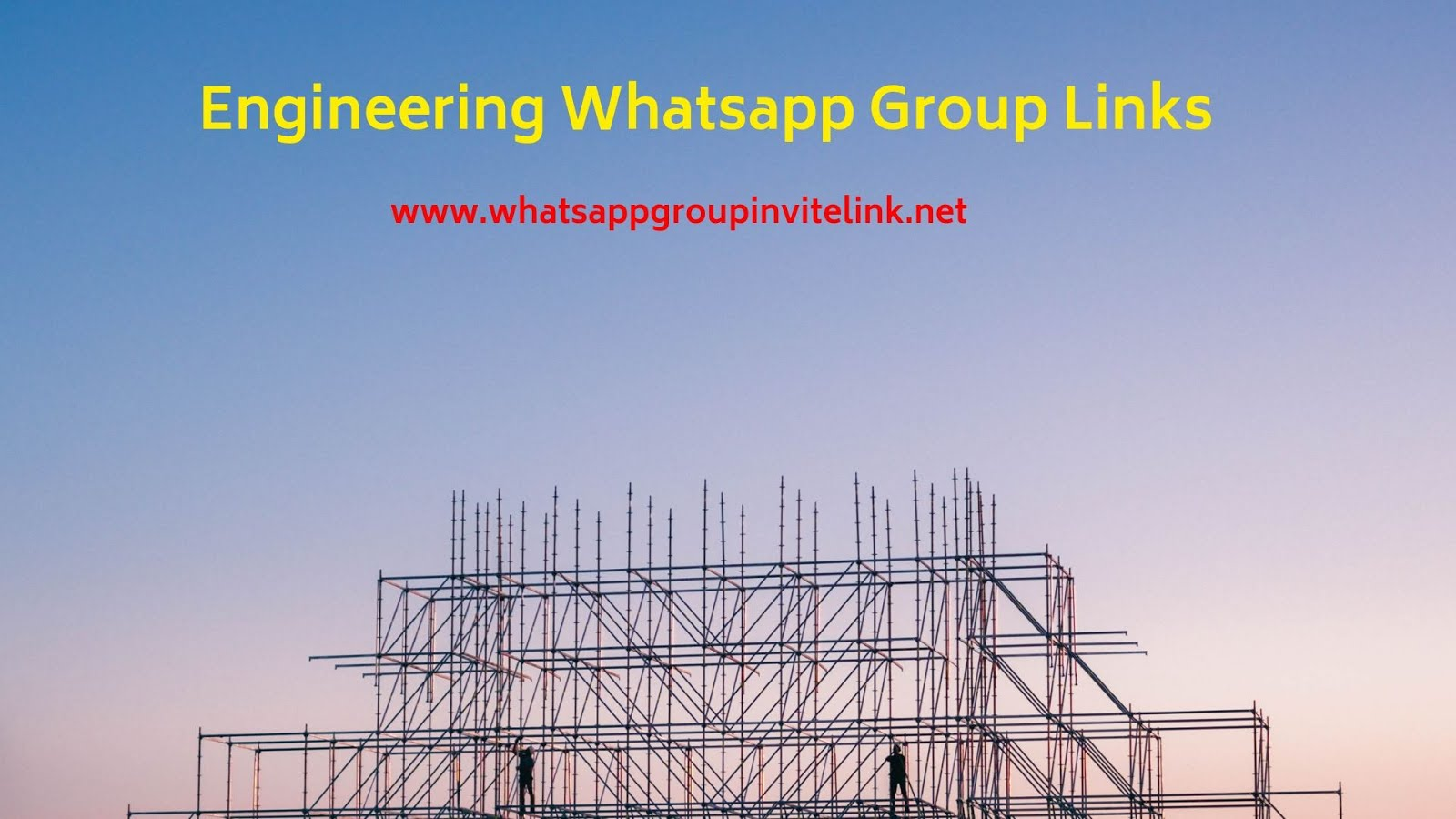 Whatsapp Group Invite Links: Engineering Whatsapp Group Links