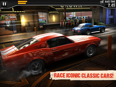 CSR Classics 1.11.0 MOD APK+DATA-Screenshot-1