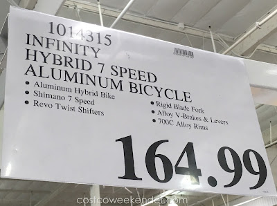 Deal for the Infinity Boss.one Mens 7-speed Hybrid Bicycle at Costco