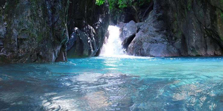 Leuwi Hejo Kawasan Sejuk Bagaikan Green Canyon di Sentul Bogor