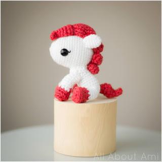 amigurumi pony all about ami