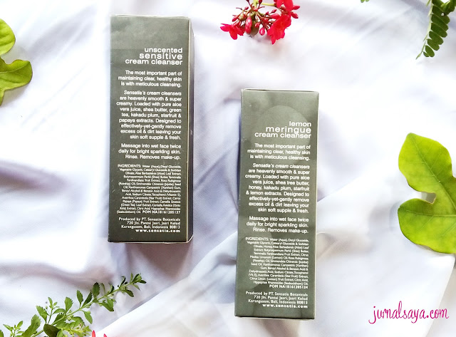 review sensatia botanical cream cleanser