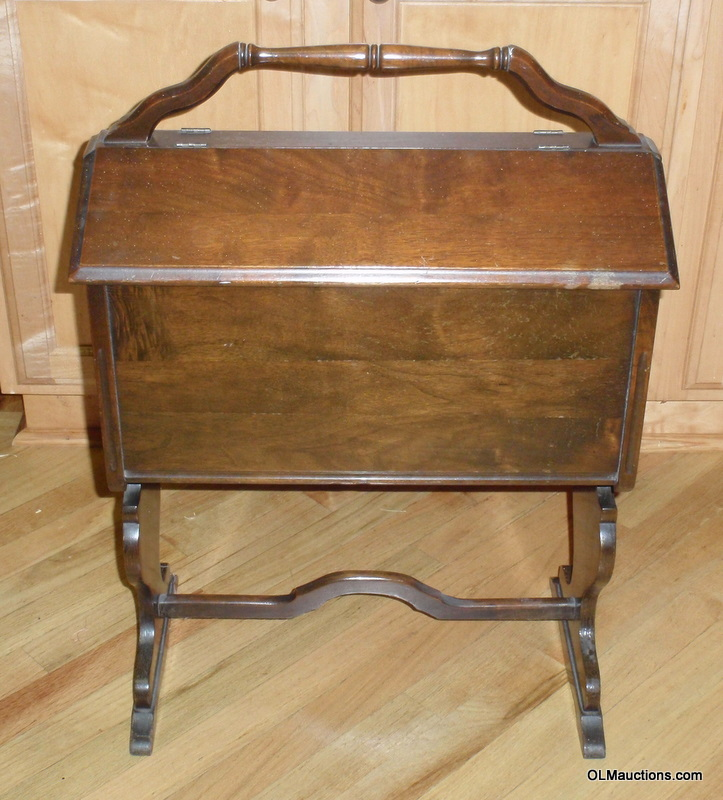 internet superstores antique wooden sewing cabinet with legs and handle. Black Bedroom Furniture Sets. Home Design Ideas