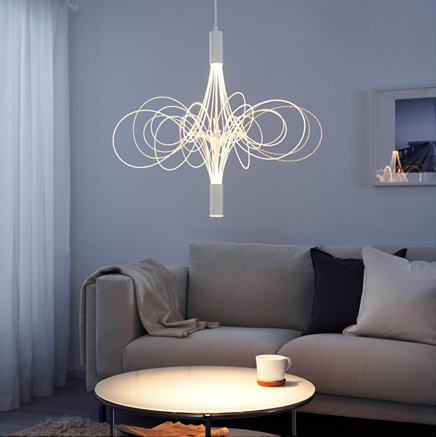 ÄLVSBYN LED chandelier