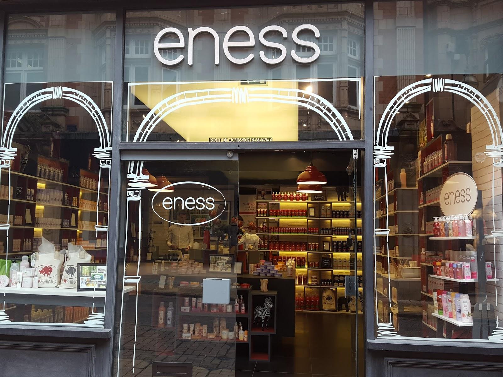 Eness beauty brand in Birmingham | sian victoria beauty blogger