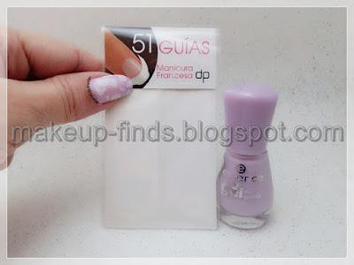 Stamping: Manicura Milka💜(CZ-CZ02)