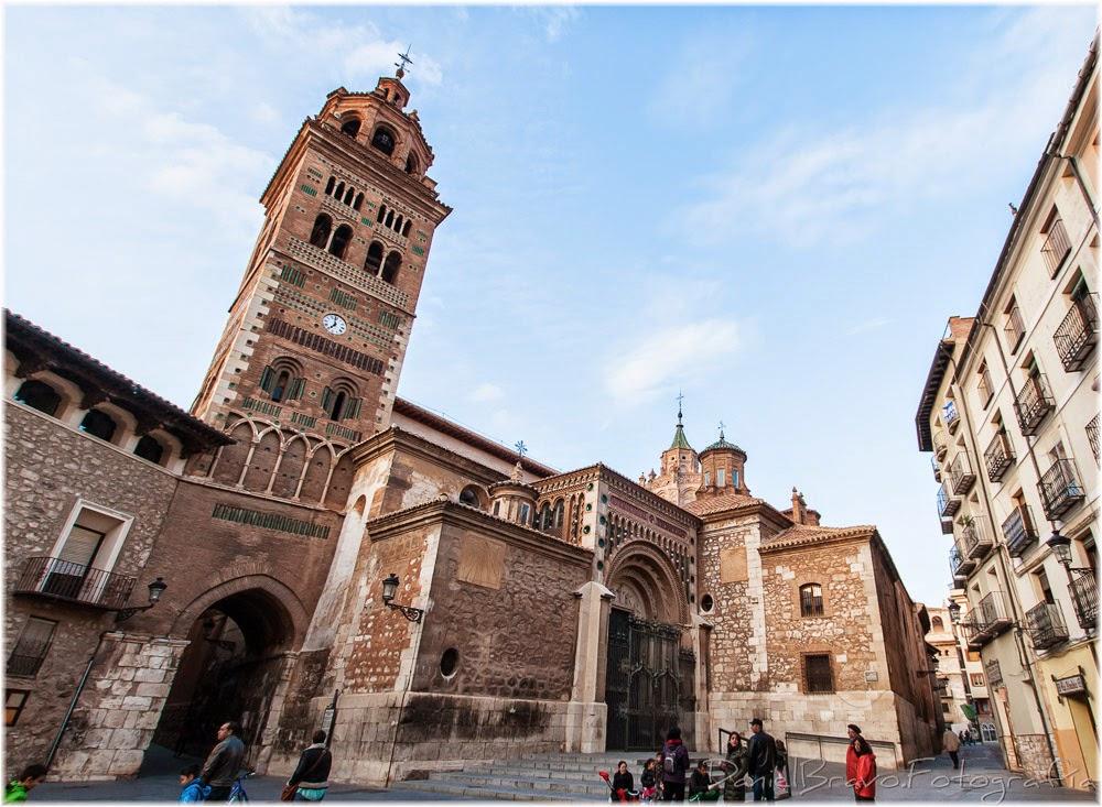 Teruel. ladrillo, iglesia, arco, mudéjar, Catedral