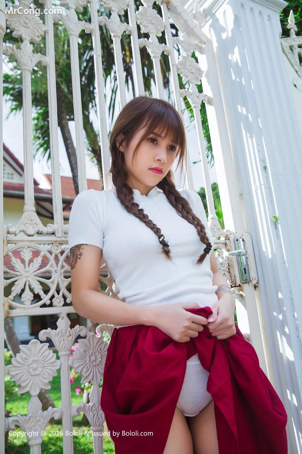 Image Tukmo-Vol.121-Xia-Mei-Jiang-MrCong.com-010 in post Tukmo Vol.121: Người mẫu Xia Mei Jiang (夏美酱) (42 ảnh)